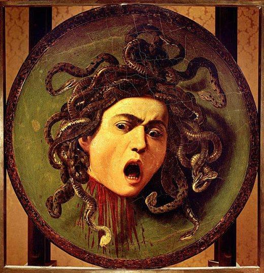 Caravaggio's Medusa, 1597