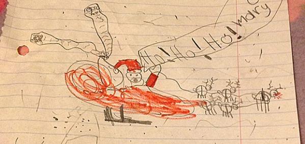 Marie's List for Santa