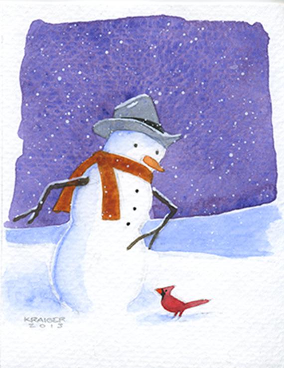 Michael Kraiger's Winter Visitor