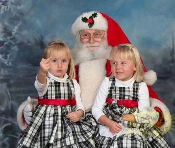 Little Girl Middle Finger