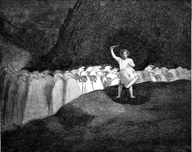 The Boy in Hell: Gustave Dore by way of Mandy Henning