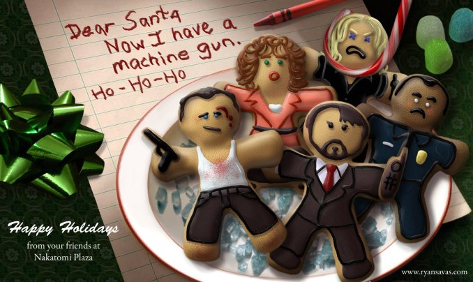 Nakatomi Plaza Holiday Card