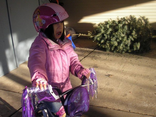 Jen Brown Talley's Daughter Thought She Wanted a Bike