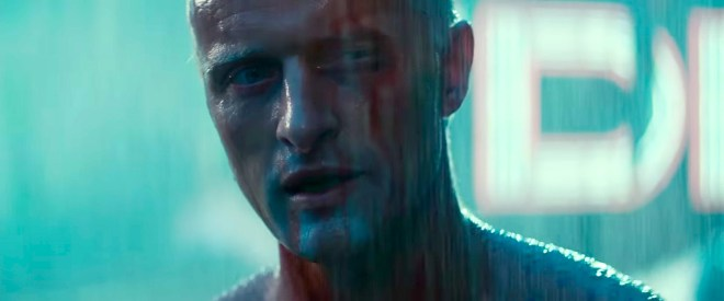 Blade Runner's Roy Batty (Rutger Hauer)